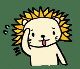 Herbivore Lion sticker #1047656
