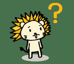 Herbivore Lion sticker #1047659
