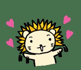 Herbivore Lion sticker #1047660