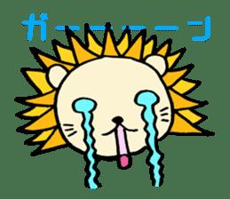 Herbivore Lion sticker #1047661