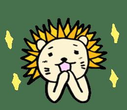Herbivore Lion sticker #1047665