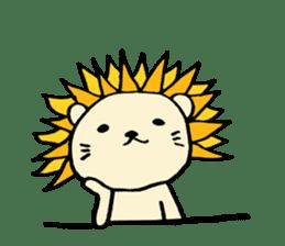 Herbivore Lion sticker #1047666