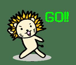 Herbivore Lion sticker #1047669