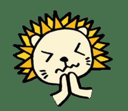 Herbivore Lion sticker #1047671