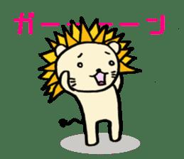 Herbivore Lion sticker #1047672