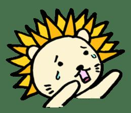 Herbivore Lion sticker #1047673