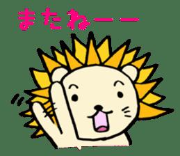 Herbivore Lion sticker #1047677