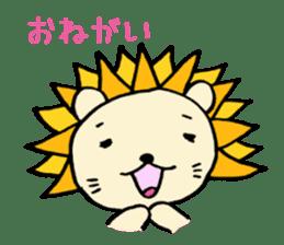 Herbivore Lion sticker #1047681