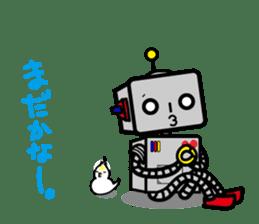 ROBO&bird sticker #1047871