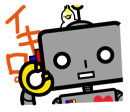 ROBO&bird sticker #1047881