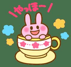 "Pleasant friends with ""Pyokotan""2 sticker #1047922"