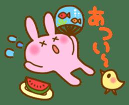 "Pleasant friends with ""Pyokotan""2 sticker #1047928"
