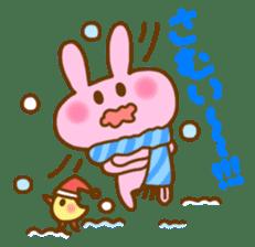 "Pleasant friends with ""Pyokotan""2 sticker #1047929"