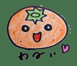 Mr.daily MIKAN sticker #1048162