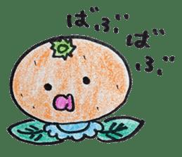 Mr.daily MIKAN sticker #1048170
