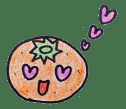 Mr.daily MIKAN sticker #1048174