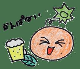 Mr.daily MIKAN sticker #1048177