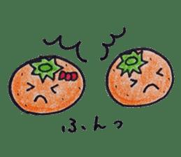 Mr.daily MIKAN sticker #1048181