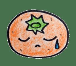 Mr.daily MIKAN sticker #1048189