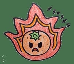 Mr.daily MIKAN sticker #1048197