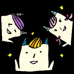 Devils of tofu -love triangle  version-