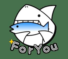 Chubby Sharkee sticker #1048245
