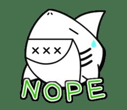 Chubby Sharkee sticker #1048246