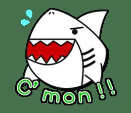 Chubby Sharkee sticker #1048252