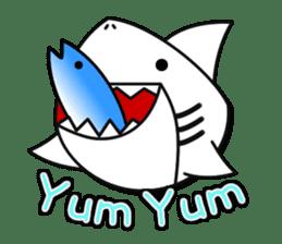 Chubby Sharkee sticker #1048257