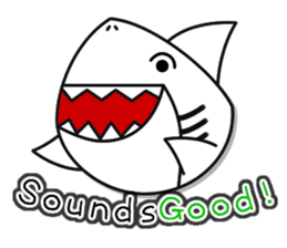 Chubby Sharkee sticker #1048258