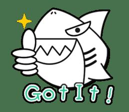 Chubby Sharkee sticker #1048259