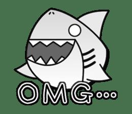 Chubby Sharkee sticker #1048264