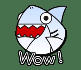 Chubby Sharkee sticker #1048278