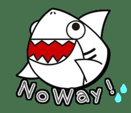 Chubby Sharkee sticker #1048280