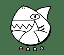 Chubby Sharkee sticker #1048281