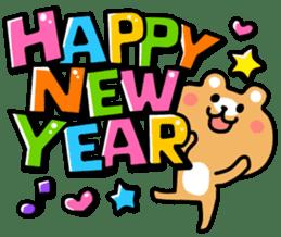 Happy new year 2015 sticker #1048362