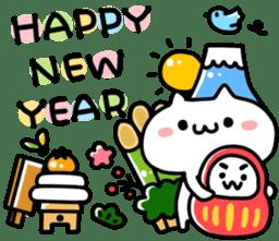 Happy new year 2015 sticker #1048365