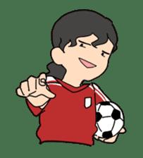 Let`s play soccer! sticker #1049299
