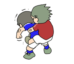 Let`s play soccer! sticker #1049316