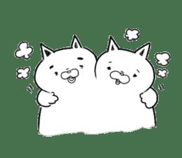 Yuruineko Sticker sticker #1049548
