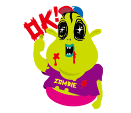 Zombie Fall in love sticker #1050485