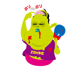Zombie Fall in love sticker #1050486
