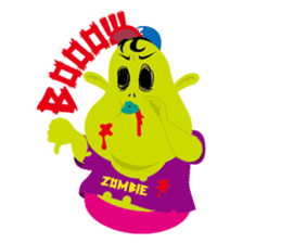 Zombie Fall in love sticker #1050487