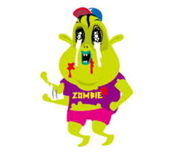 Zombie Fall in love sticker #1050496