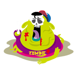 Zombie Fall in love sticker #1050498