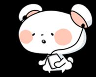 Mr.White bear sticker #1057762