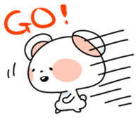 Mr.White bear sticker #1057764