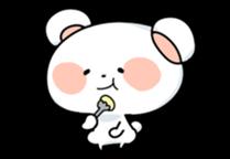 Mr.White bear sticker #1057766