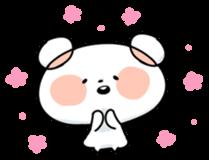 Mr.White bear sticker #1057769