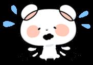 Mr.White bear sticker #1057772